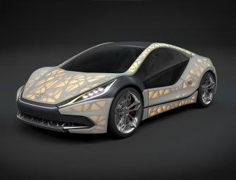 'Light Cocoon', A Concept Car with 3D Printed Skeleton Expected Soon