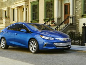 GM Officially Outs the Slick and Powerful 2016 Chevy Volt