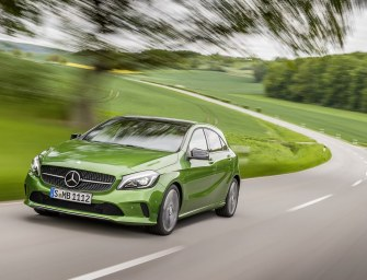 Mercedes Unveils the Stunning 2016 A-Class Facelift