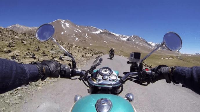 motorbike go pro