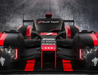 Audi Unveils the Stunning 2016 R18 Le Mans Prototype