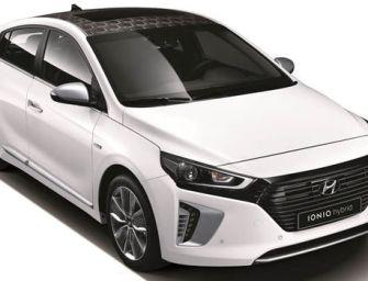 Hyundai Unveils the Ioniq Hybrid