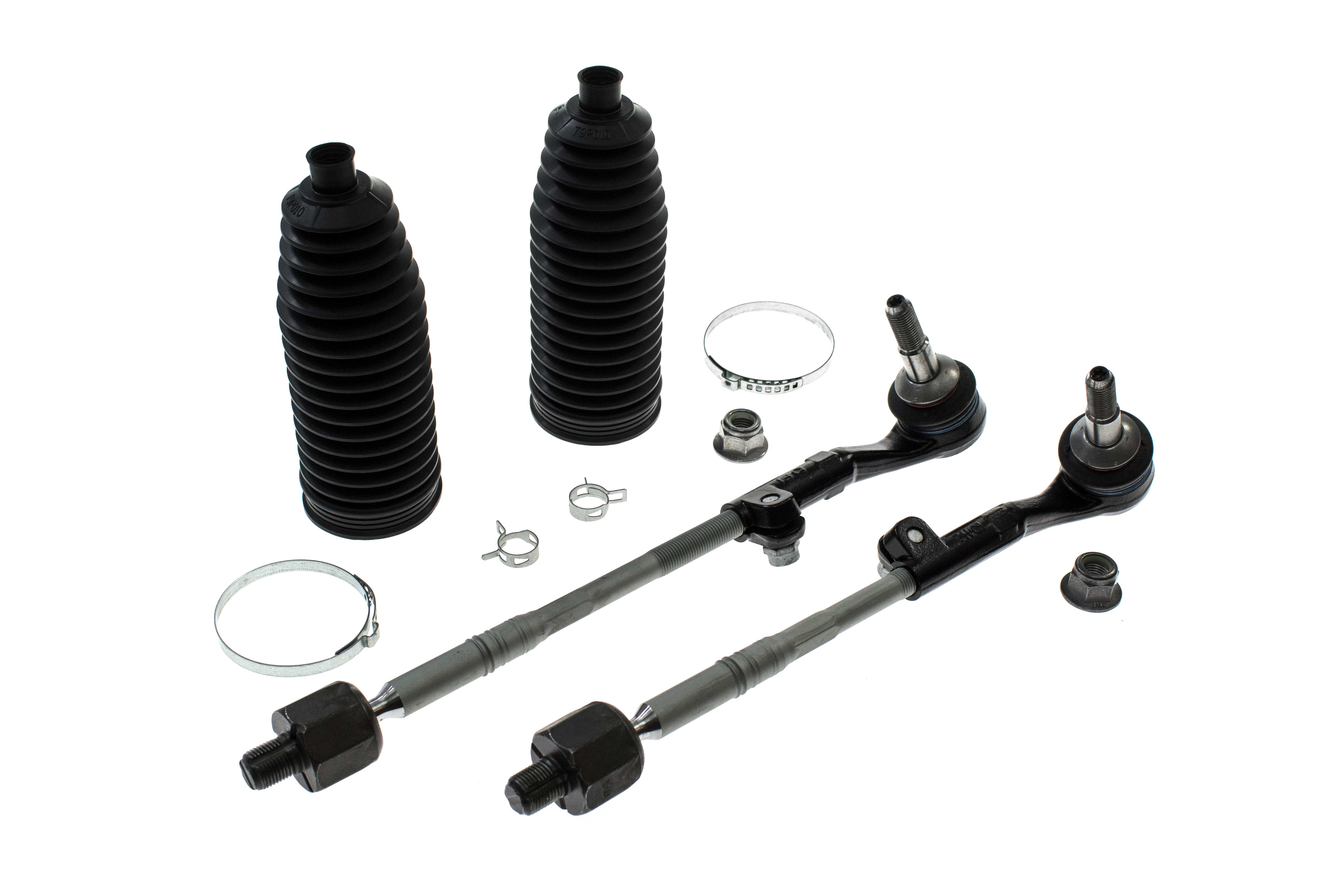 Aaz Preferred E90strkit Tie Rod Assembly Left And Right Rack Boots Kit