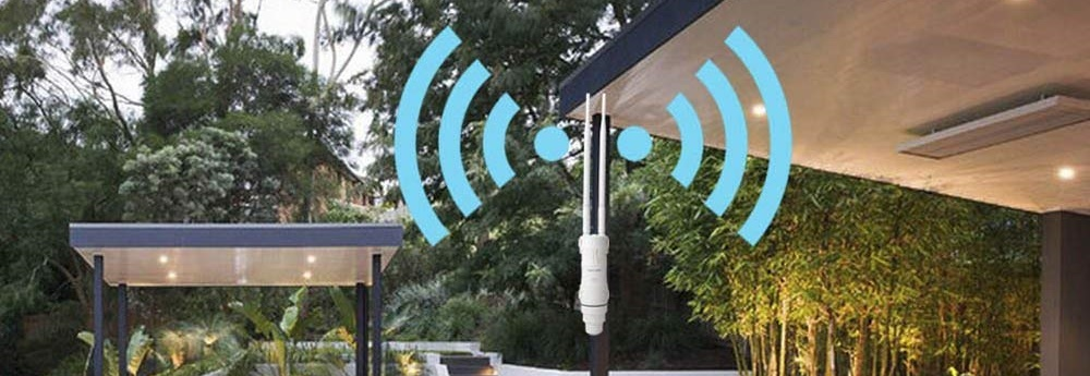 Extends WiFi Coverage to a Distant Location CC Vector Extended Long Range WiFi Repeater System 2.4 GHz