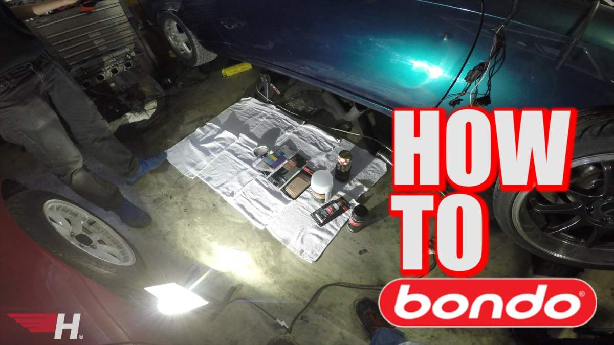 How to Repair a Dent Working with Bondo