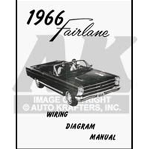 1966 fairlane wiring diagram manual ford 500 xl squire gt