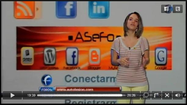 ASeFo en televisión Foro TV