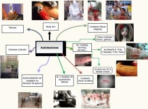 Los discursos del cuerpo y la experiencia del padecimiento. Acciones autolesivas corporales en jóvenes – España – Tesis 2011