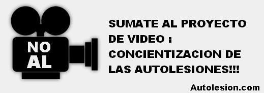 Video de Concienciación para el 1 de Marzo dia de la Autolesion