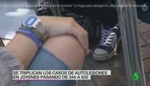 Se triplican los casos de autolesiones en jóvenes – España