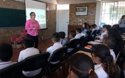 Platicas sobre Cutting en escuelas de secundaria – Mexico