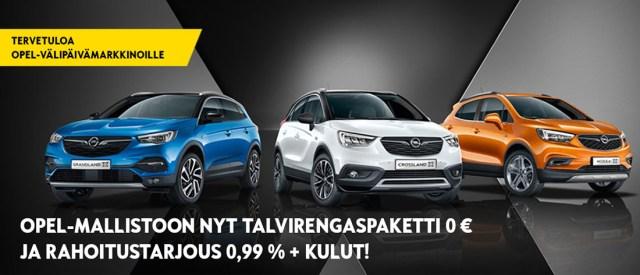 Opel-Grandland X-Crossland X-Mokka X
