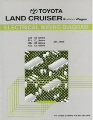 1998 TOYOTA LANDCRUISER STATION WAGON ELECTRICAL WIRING