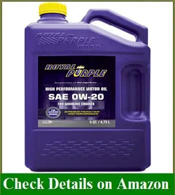 Royal Purple 51020 API-Licensed SAE 0W