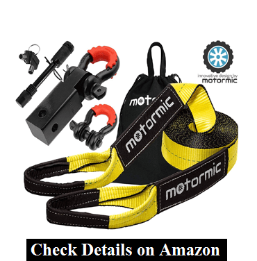 motormic Tow Strap Recovery Kit