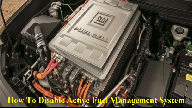 How To Disable Active Fuel Management System
