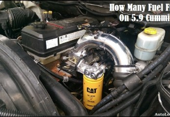 how many Fuel Filters On 5.9 Cummins