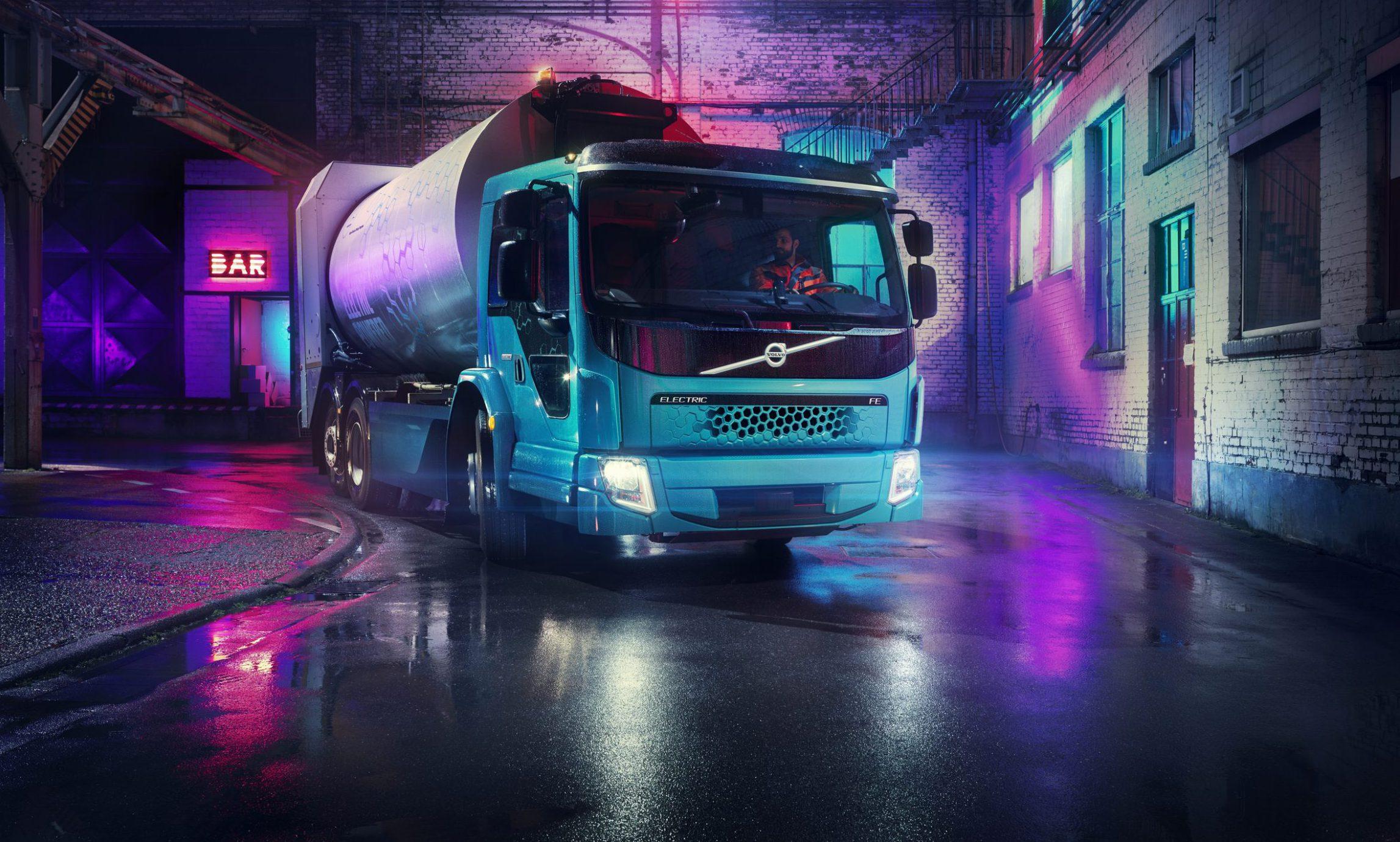Volvo FE Elektro LKW