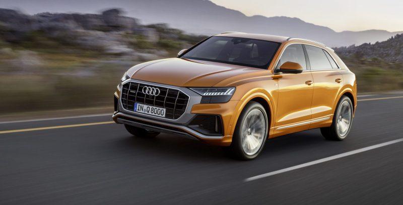 Audi Q8 vorne dynamic