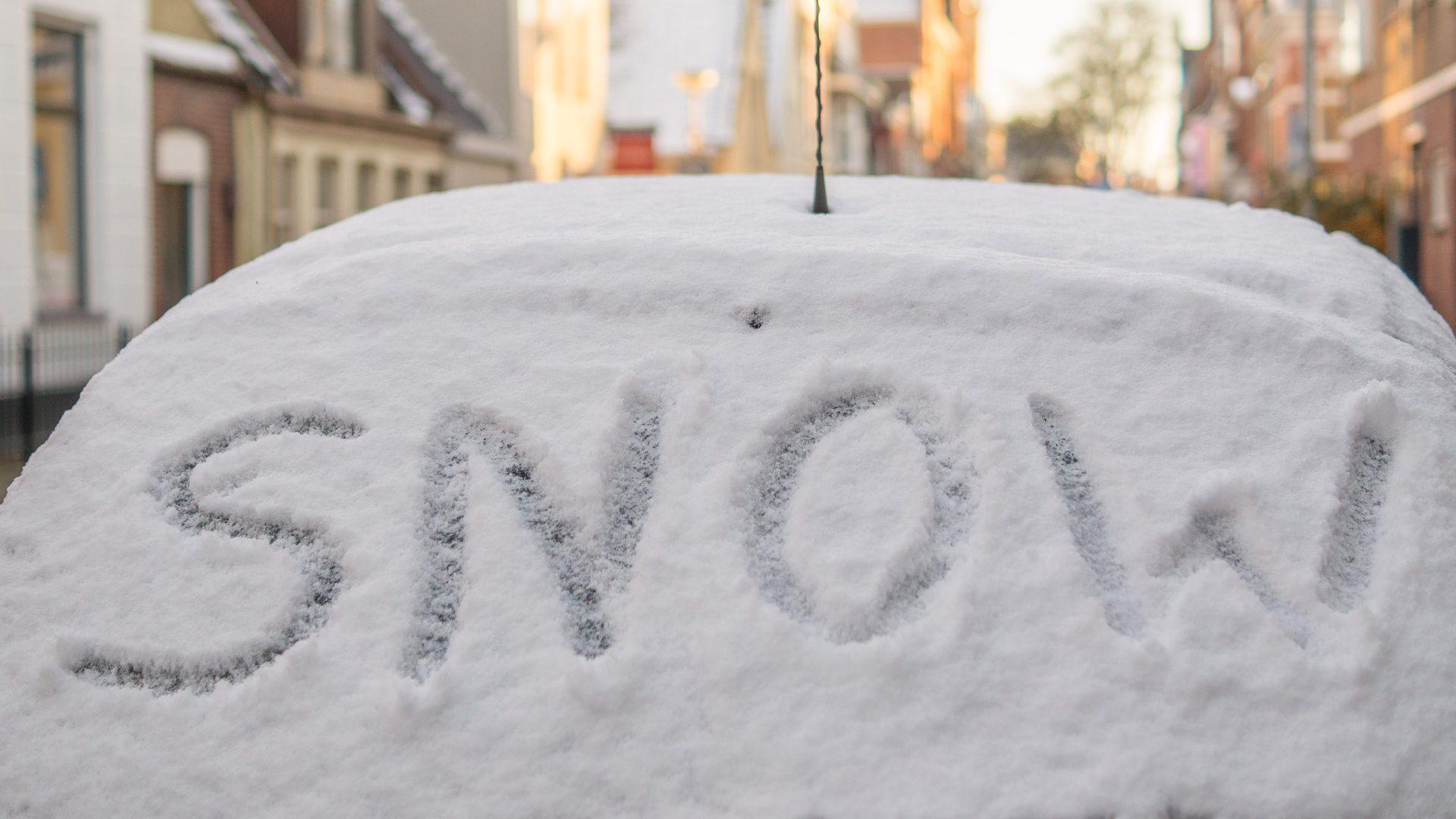 Auto Winter Schnee Snow