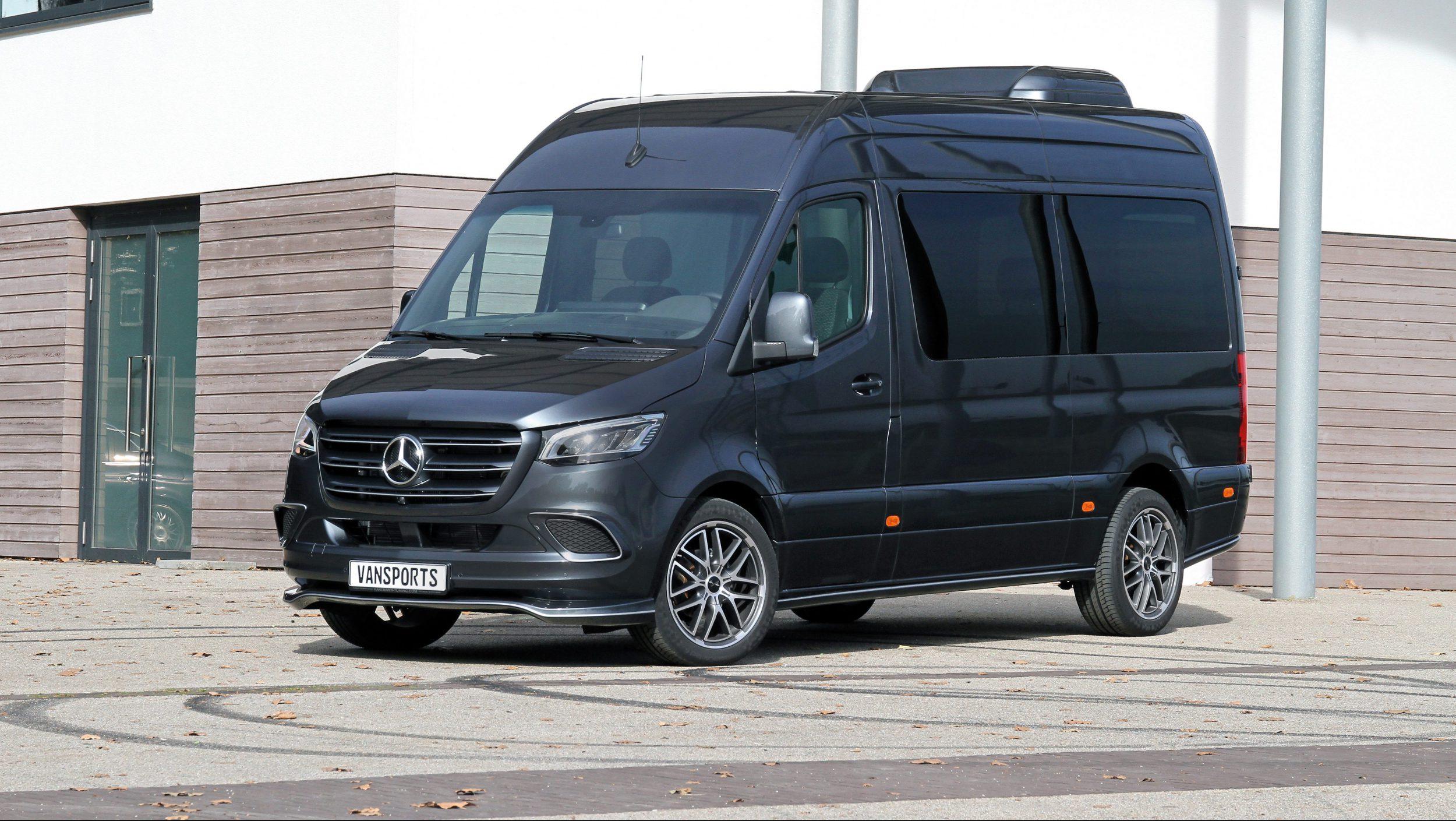 Mercedes-Sprinter von Vansports.de_vorne