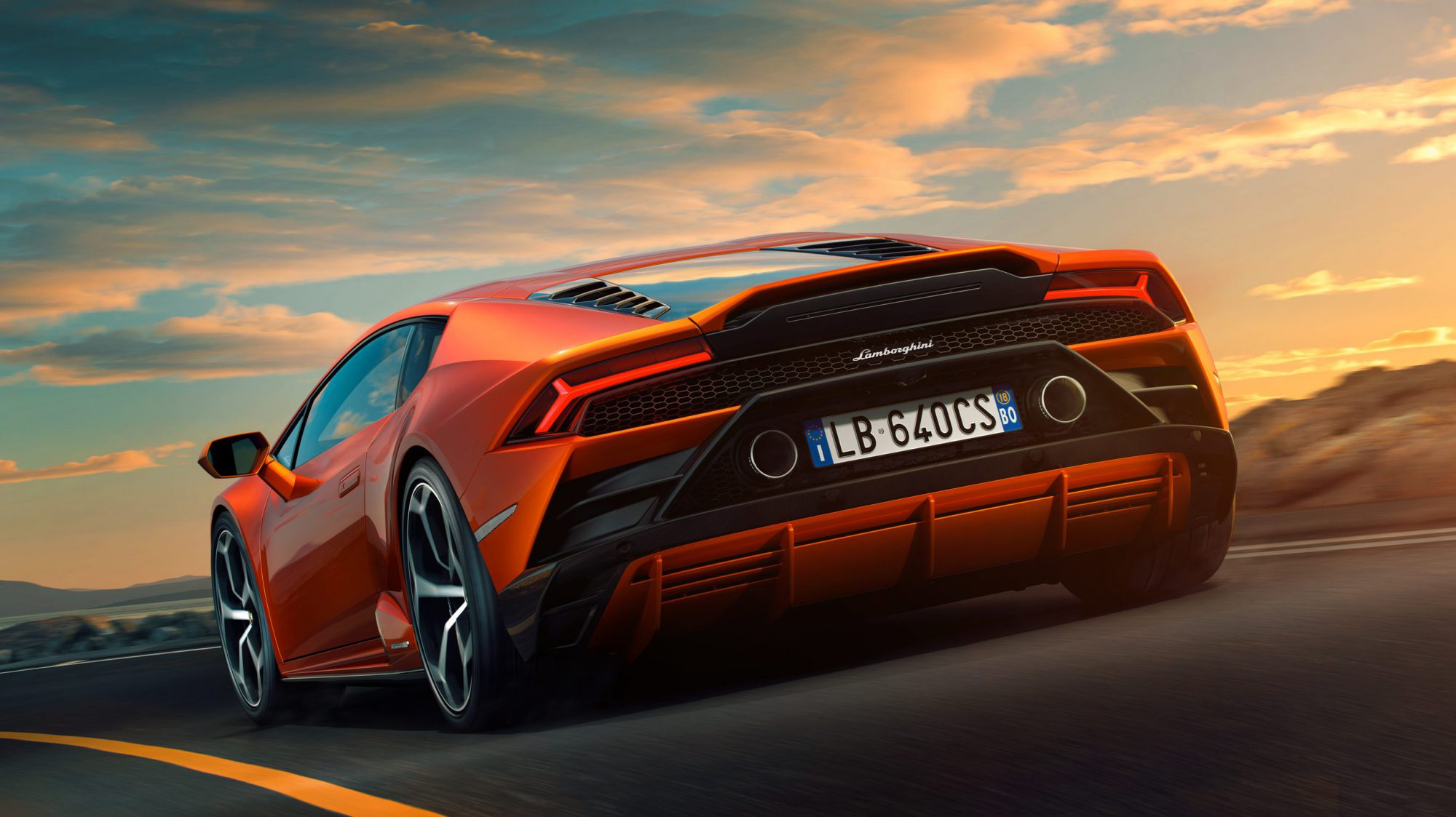 Lamborghini Huracán Evo_Heck