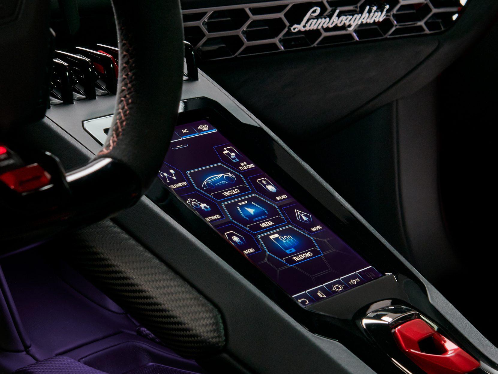Lamborghini Huracán Evo_Touch