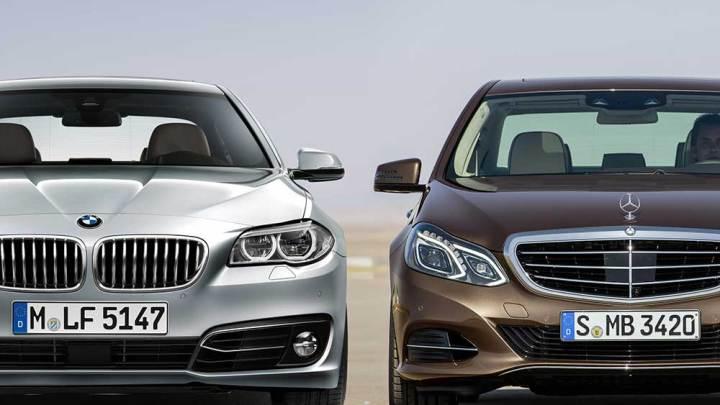 Mercedes E 180 mi, BMW 520i mi?