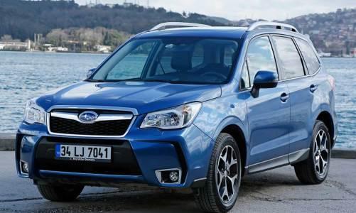Subaru'ya ideal SUV ödülü