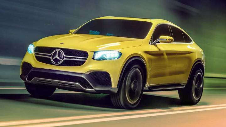 Mercedes'in BMW X4'e cevabı: GLC Coupe