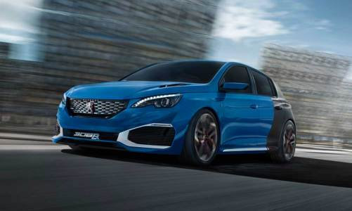 Süper performanslı Peugeot 308: R Hybrid