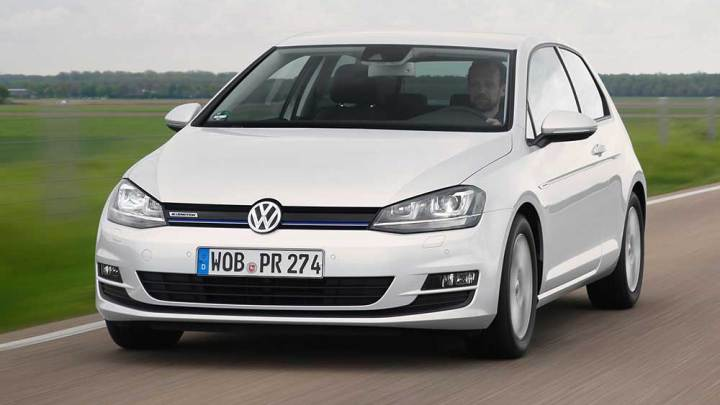 VW Golf'e 1.0 lt'lik BlueMotion versiyon