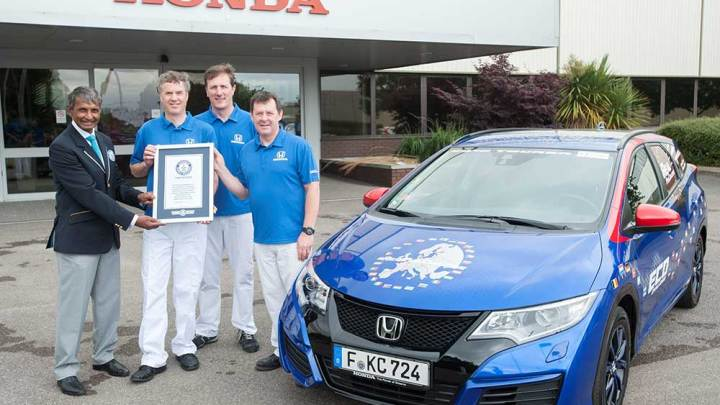 Honda'dan düşük tüketim rekoru