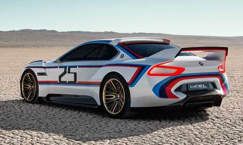 BMW'den 3.0 CSL efsanesini dirilten konsept