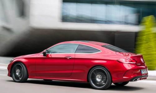 Mercedes yeni C-Serisi Coupe'yi tanıttı