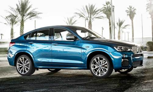 En güçlü BMW X4: M40i
