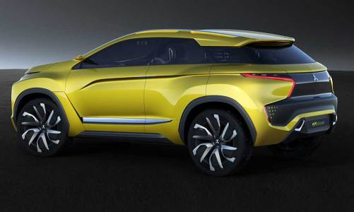 Mitsubishi'den elektrikli konsept: eX