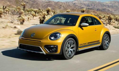 VW Beetle Dune Los Angeles'da tanıtıldı