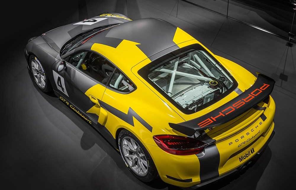 Porsche Motorsport imzalı: Cayman GT4 Clubsport
