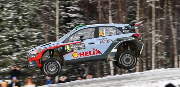 HYUNDAI i20 WRC YİNE PODYUMDA
