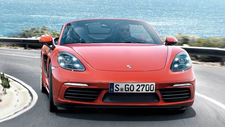 Porsche yeni 718 Boxter'ı tanıttı