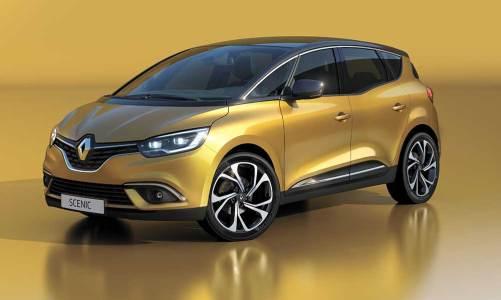 Yeni Renault Scenic Cenevre'yi bekliyor