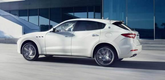 En güçlü Maserati Levante Türkiye'de
