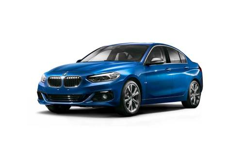 İşte BMW 1-Serisi Sedan