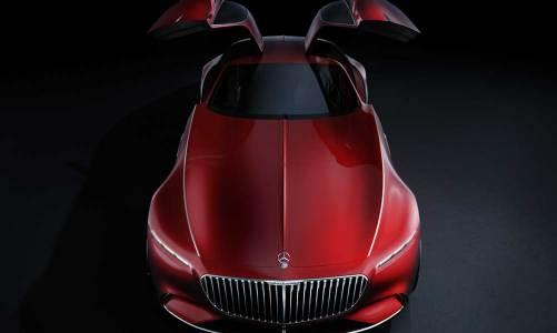 Mercedes-Maybach'ın lüks coupe yorumu