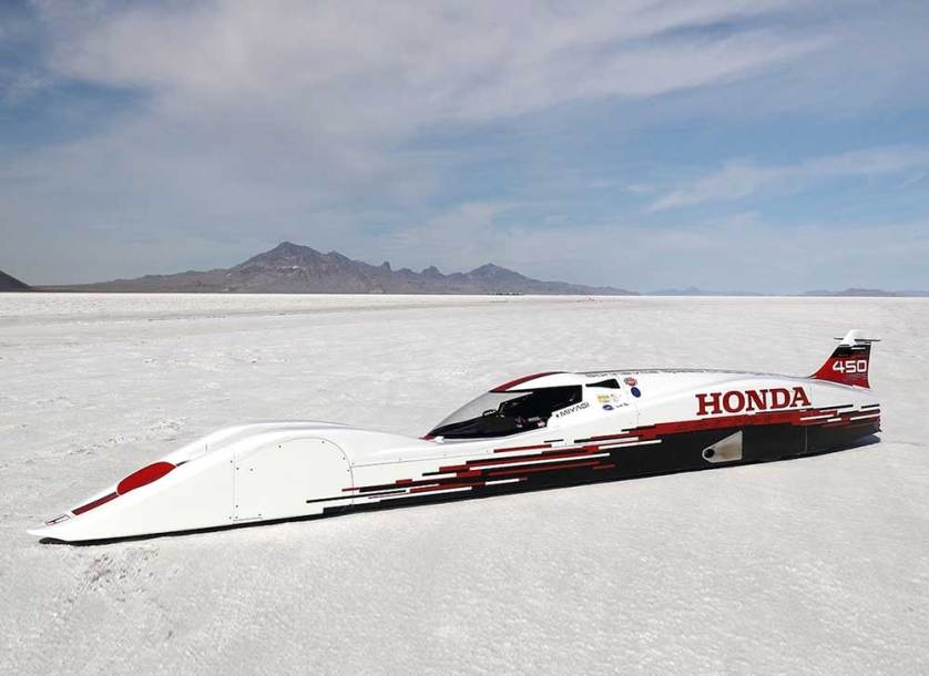 HONDA S DREAM STREAMLINER