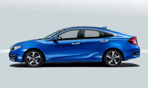 Honda Civic ihracatı başladı