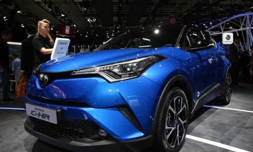 Türk malı Toyota C-HR Paris'te tanıtıldı