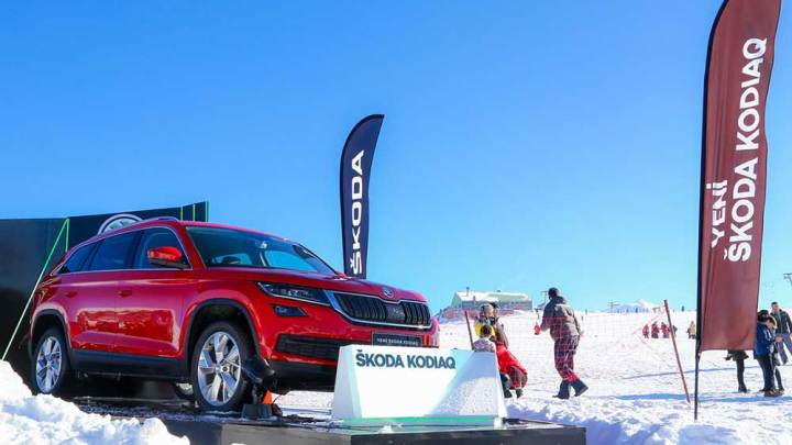 Skoda Kodiaq ilk kez sergilendi