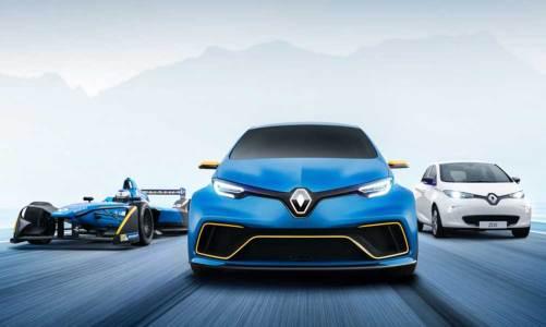 Renault'dan elektrikli sporcu: Zoe E-Sport